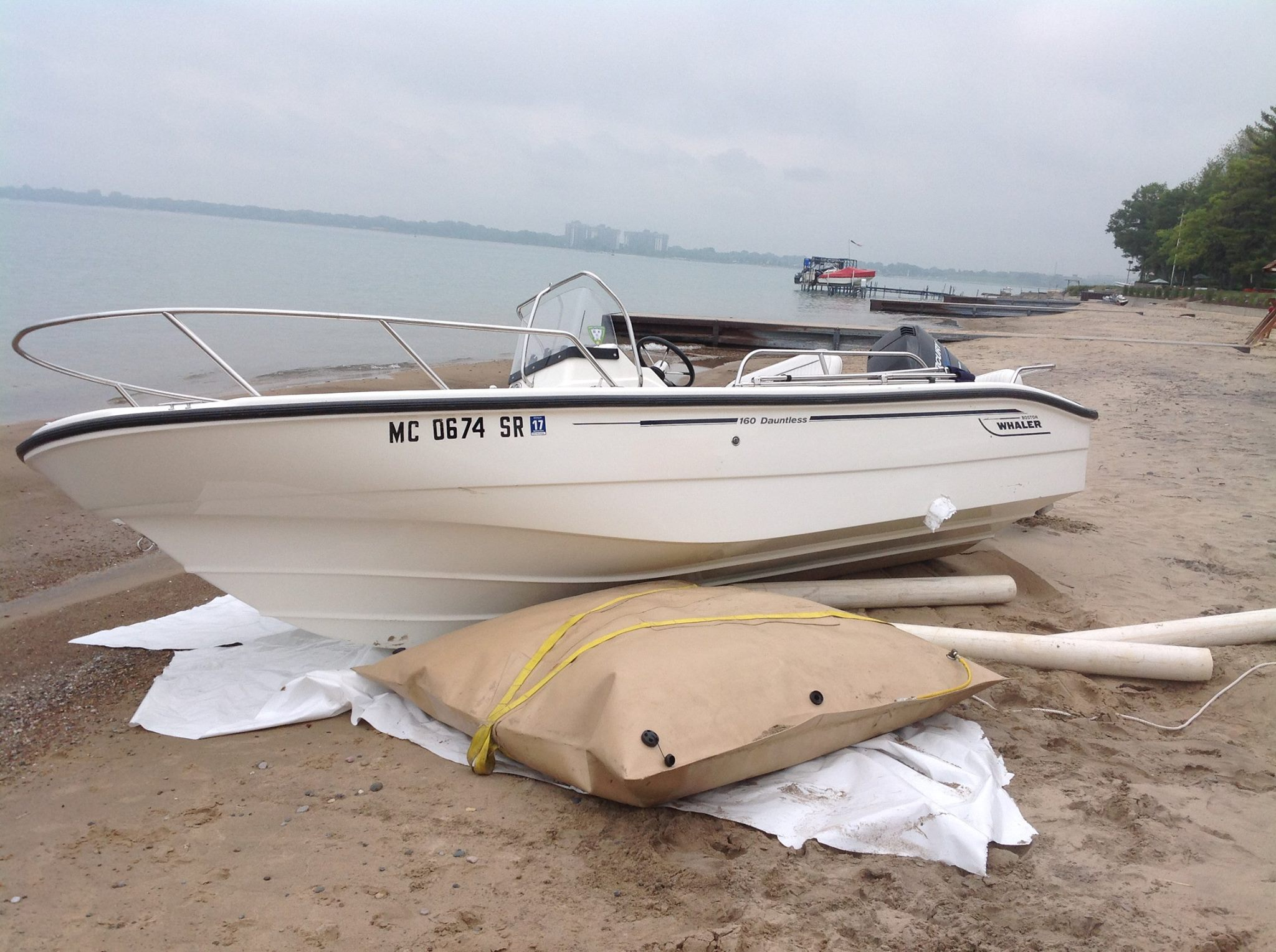 Boat Salvage Beach